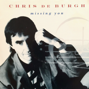 "Chris De Burgh - Missing You (12"") (G+/VG)"